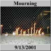 Mourning - Park Slope & Elsewhere - September 11 - World Trade Center - NYC