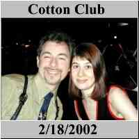 Cotton Club - Swing Dancing - NYC