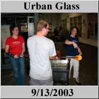 Urban Glass Glassblowing - www.urbanglass.org - Brooklyn NYC