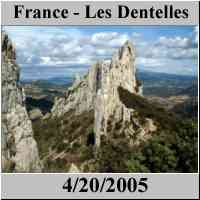 France - Les Dentelles