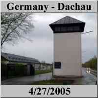 Germany - Dachau - Concentration Camp