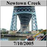 Newtown Creek - NYC - BCUE cruise